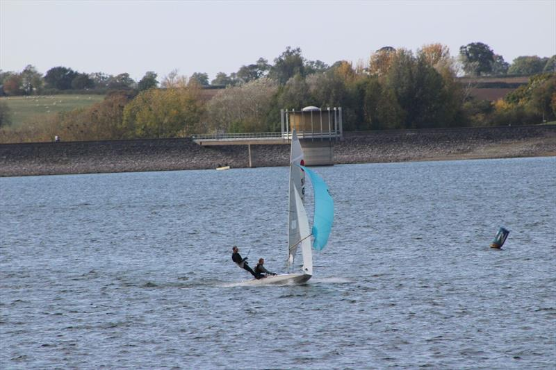 Fireball Inlands at Draycote photo copyright Rob Parker taken at Draycote Water Sailing Club and featuring the Fireball class