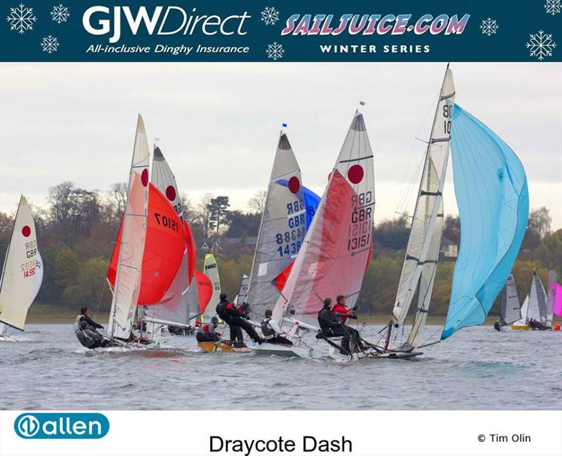 Fireballs during the Fernhurst Books Draycote Dash - photo © Tim Olin / www.olinphoto.co.uk