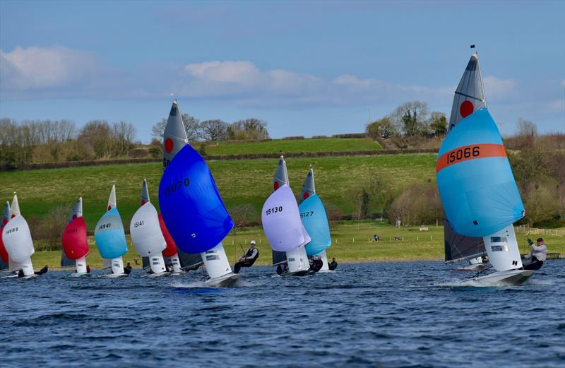 Fireball Gul Golden Dolphin Series at Chew Valley Lake - photo © Errol Edwards