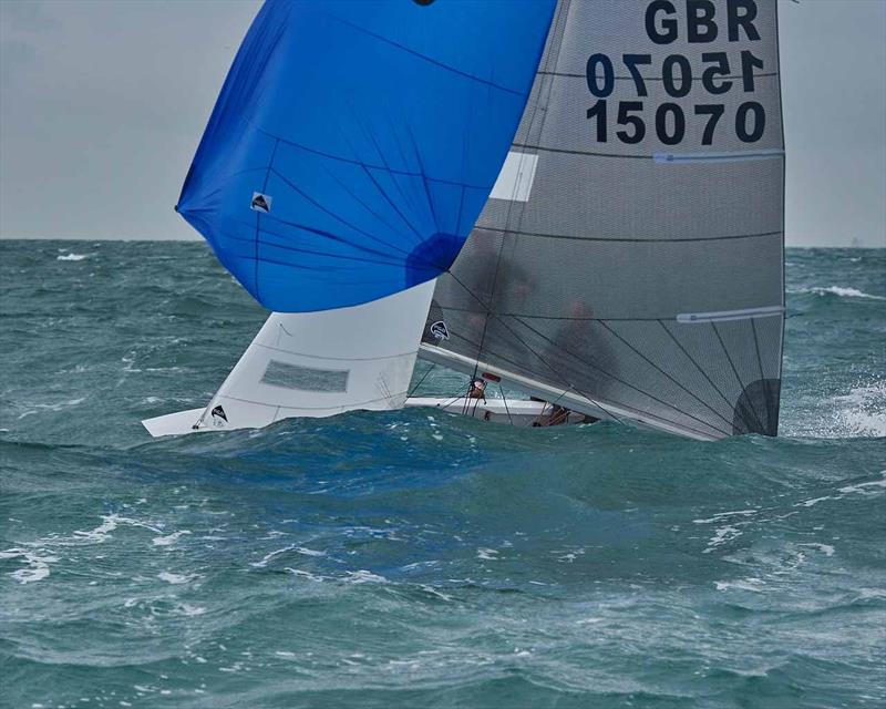 Gul Fireball Golden Dolphin Series at Hayling Island - photo © Rob O'Neill