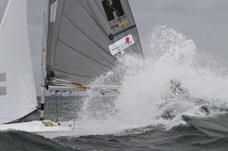 Gul Fireball Worlds at Carnac day 1 - photo © Urs Kueblis