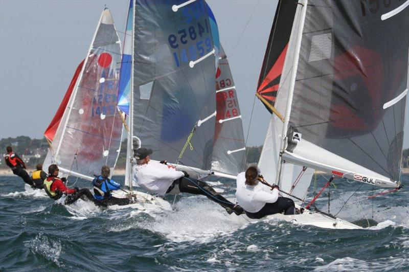 Gul Fireball Worlds at Carnac day 2 - photo © Urs Kueblis