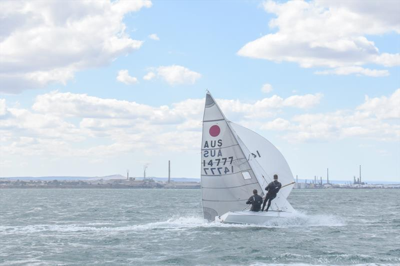 Some great rides and a strong breeze on Day 4 at the 2019 Australian Fireball Nationals - photo © Harry Fisher