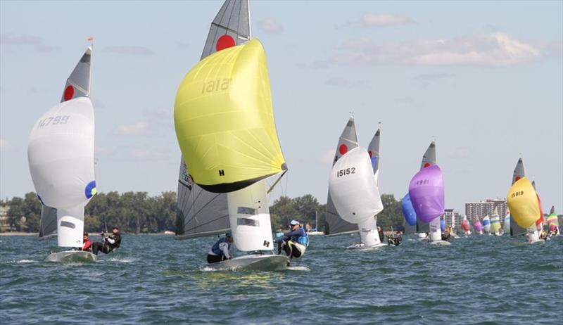 Fireball World Championship at Pointe Claire YC - photo © Urs Haerdi