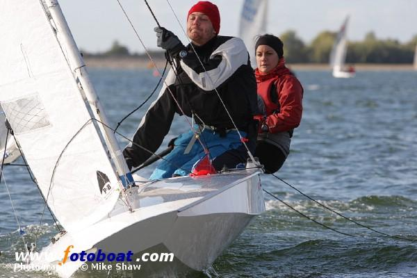 A crisp day for the Fireball Inland Championships photo copyright Mike Shaw / www.fotoboat.com taken at Draycote Water Sailing Club and featuring the Fireball class