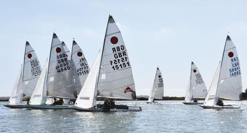 Fireball Under 26 Championship at Blackwater Sailing Club