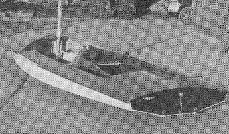 In a marked contrast to many other scows, the genius of Peter Milne was to add a double chined hull and plenty of curves photo copyright Chippendale taken at  and featuring the Fireball class