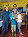 Steve Greaves, Arthur & Madelaine Greaves win the Rickmansworth Firefly Open © Amy Francis