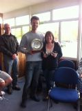 Jamie McEwen & Claire Johns win the Rickmansworth Firefly Open © Kirsten Smith