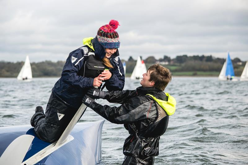 Still friends during the BUCS Fleet Racing Championships - photo © JJRE Photos / www.instagram.com/JJREast/