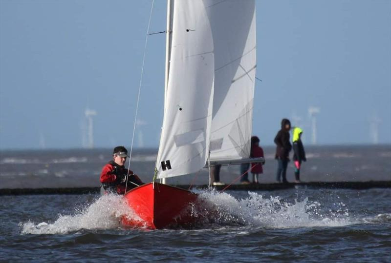 18 boats make the first open meeting of 2020 at West Kirby, just before Storm Ciara hit - photo © WKSC