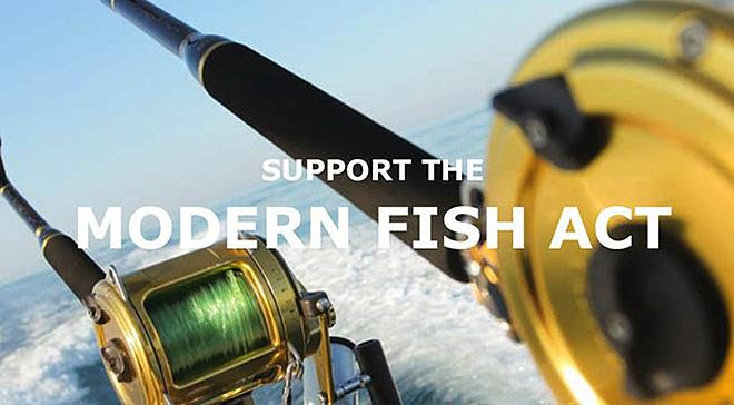Support the Modern Fish Act photo copyright IGFA  taken at  and featuring the Fishing boat class