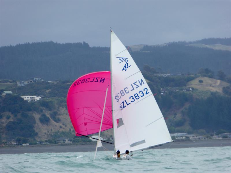 Flying Fifteen Worlds at Napier day 1 - photo © Jonny Fullerton