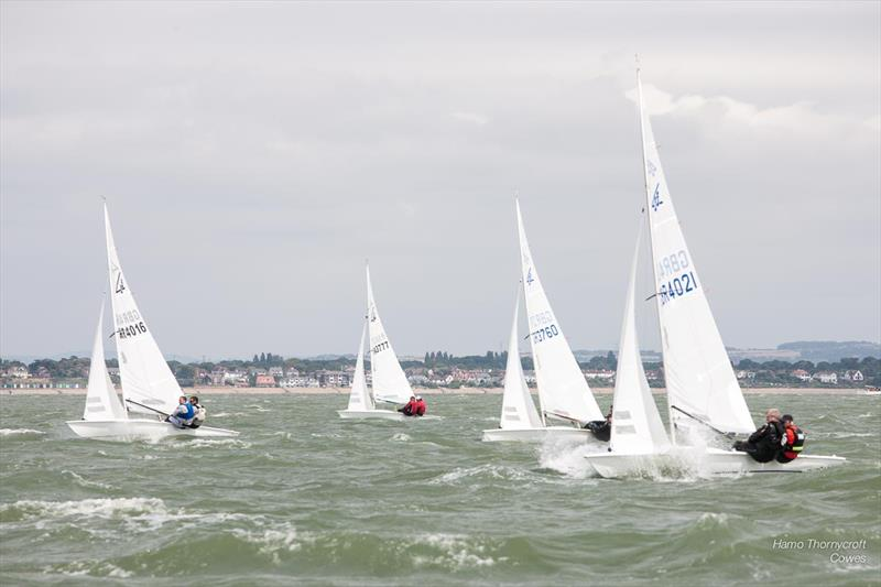 Flying Fifteen Southern Championship in Cowes - photo © Hamo Thornycroft / www.yacht-photos.co.uk