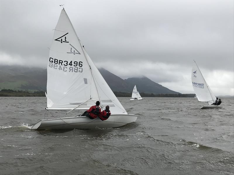 Flying Fifteen Team Racing at Bassenthwaite photo copyright William Carruthers taken at Bassenthwaite Sailing Club and featuring the Flying Fifteen class
