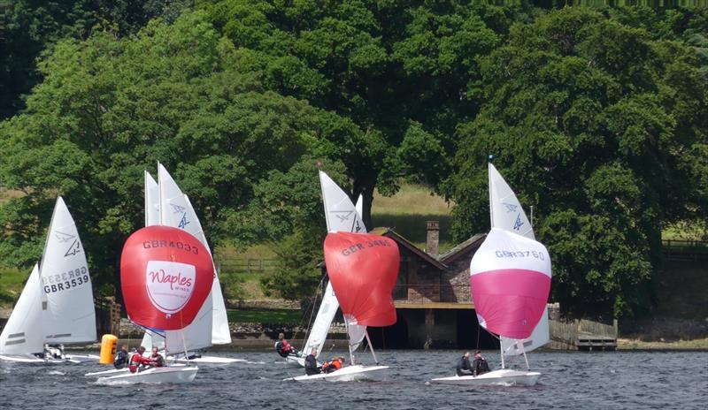 Flying Fifteen Open at UYC in 2017 photo copyright Sue Giles taken at Ullswater Yacht Club and featuring the Flying Fifteen class