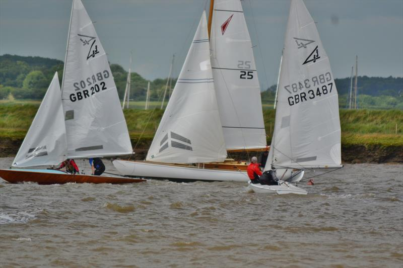 Aldeburgh Classics Weekend photo copyright John Adcroft taken at Aldeburgh Yacht Club and featuring the Flying Fifteen class