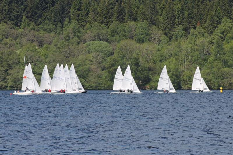 Flying Fifteen 2018 Scottish Championship photo copyright Sally McKee taken at Loch Tummel Sailing Club and featuring the Flying Fifteen class