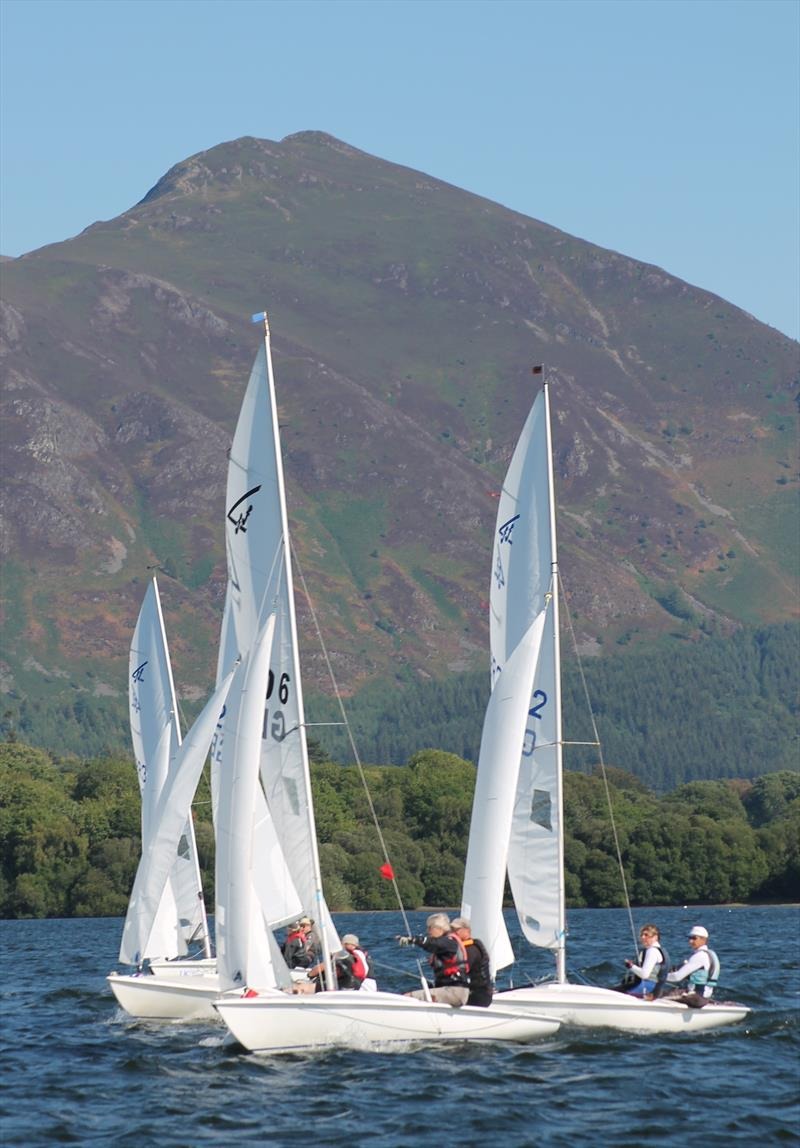 Flying Fifteen and GP14 Open at Bassenthwaite photo copyright William Carruthers taken at Bassenthwaite Sailing Club and featuring the Flying Fifteen class