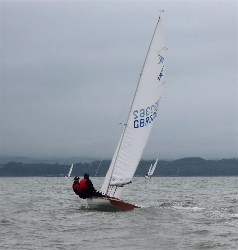 Flying Fifteens and cruising yachts during Solway YC Kippford Week photo copyright Becky Davison taken at Solway Yacht Club and featuring the Flying Fifteen class