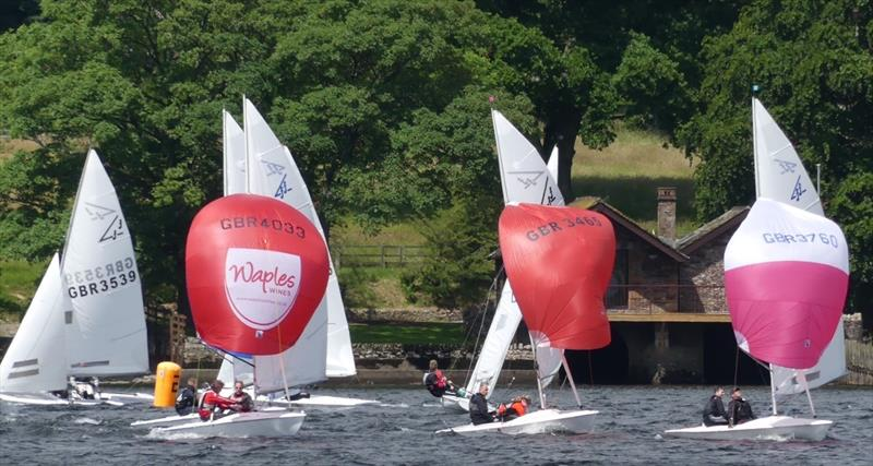 Flying Fifteens on Ullswater - photo © Sue Giles