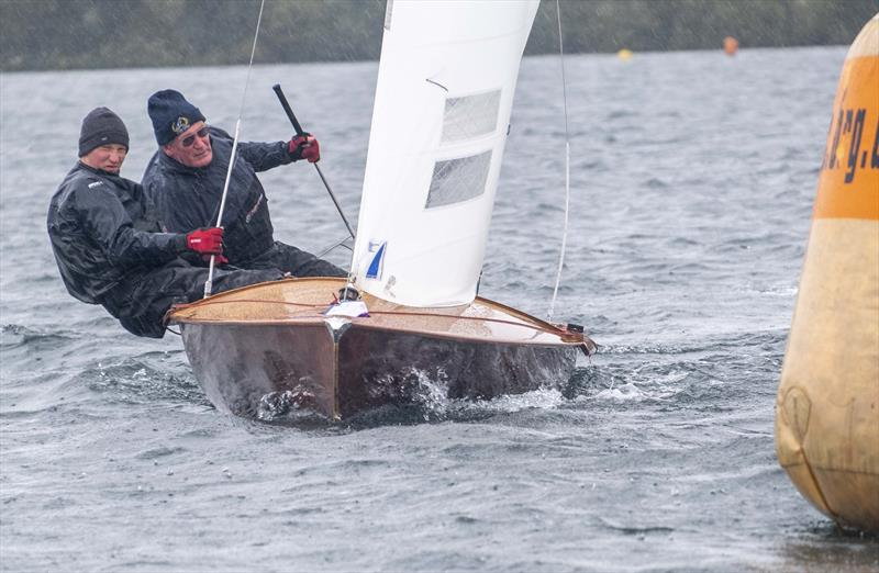 The first and only Classic boat at the Waples Wines Notts County Flying 15 Open photo copyright David Eberlin taken at Notts County Sailing Club and featuring the Flying Fifteen class