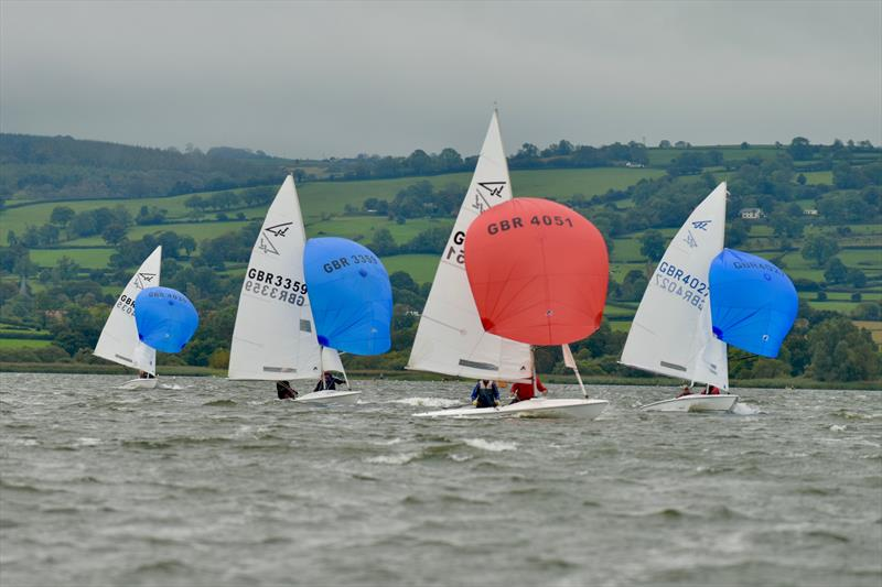 Flying 15s at Chew Valley Lake photo copyright Errol Edwards taken at Chew Valley Lake Sailing Club and featuring the Flying Fifteen class