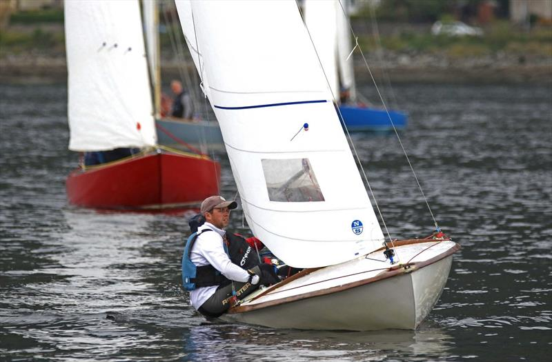 eSailing Spring Club Championship winner - Scotland - Alasdair Ireland photo copyright RYA taken at Royal Northern & Clyde Yacht Club and featuring the Flying Fifteen class