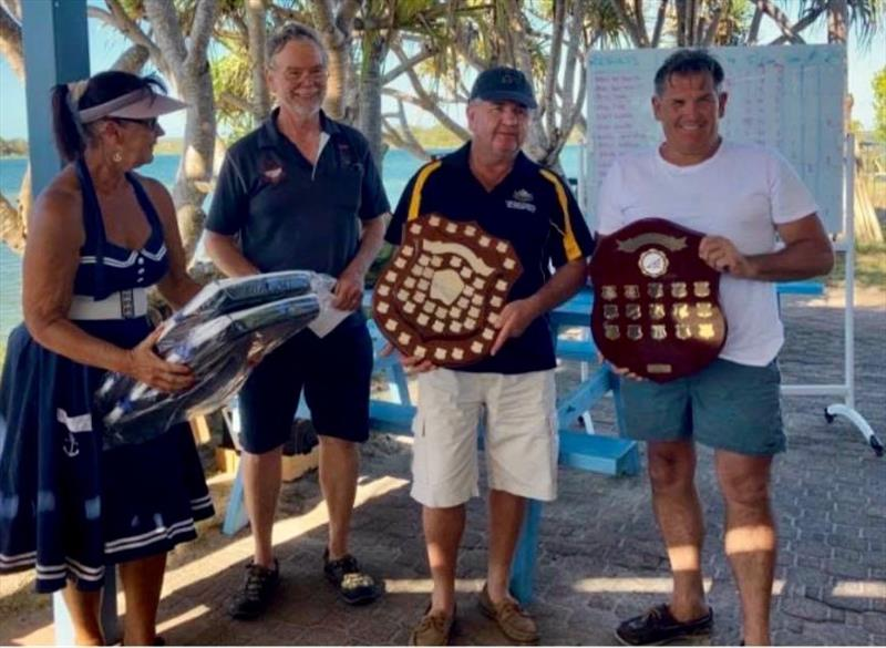 Chris Villa and Mark Holmes win the Flying Fifteen Queensland State Championships  photo copyright TCYC taken at Tin Can Bay Yacht Club and featuring the Flying Fifteen class