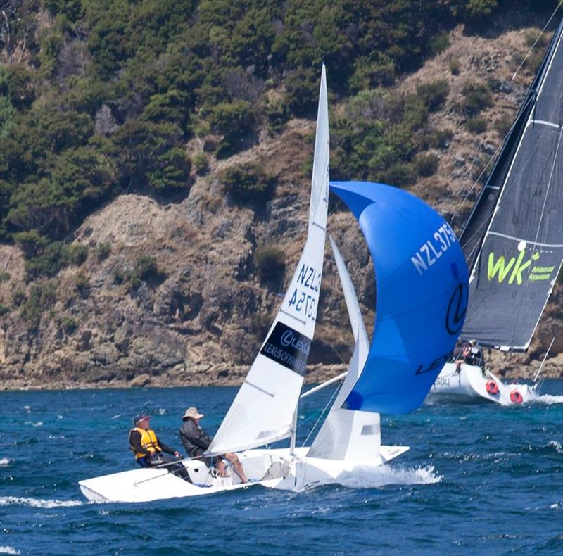 New Zealand Flying Fifteen Nationals 2018 photo copyright Waikawa Boating Club taken at Waikawa Boating Club and featuring the Flying Fifteen class