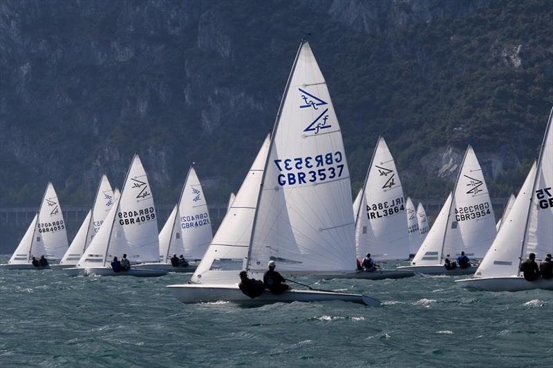 2018 Flying Fifteen European Championship at Fraglia Vela Riva - photo © Elena Giolai