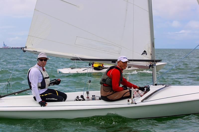 Sake Ashley Smith and Adam Kingston - Flying Fifteen Australian Championship 2020 - photo © Royal Queensland Yacht Squadron