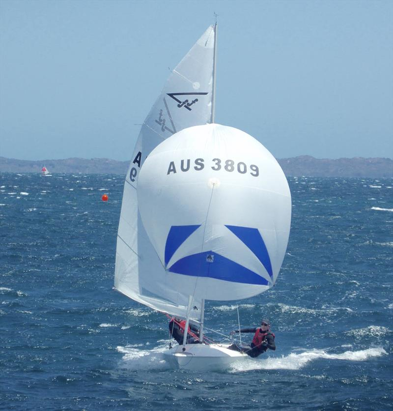 Hamish Carnachan and Peter Mudford - 2020 Tally Hobbs Memorial Regatta - photo © Jonny Fullerton