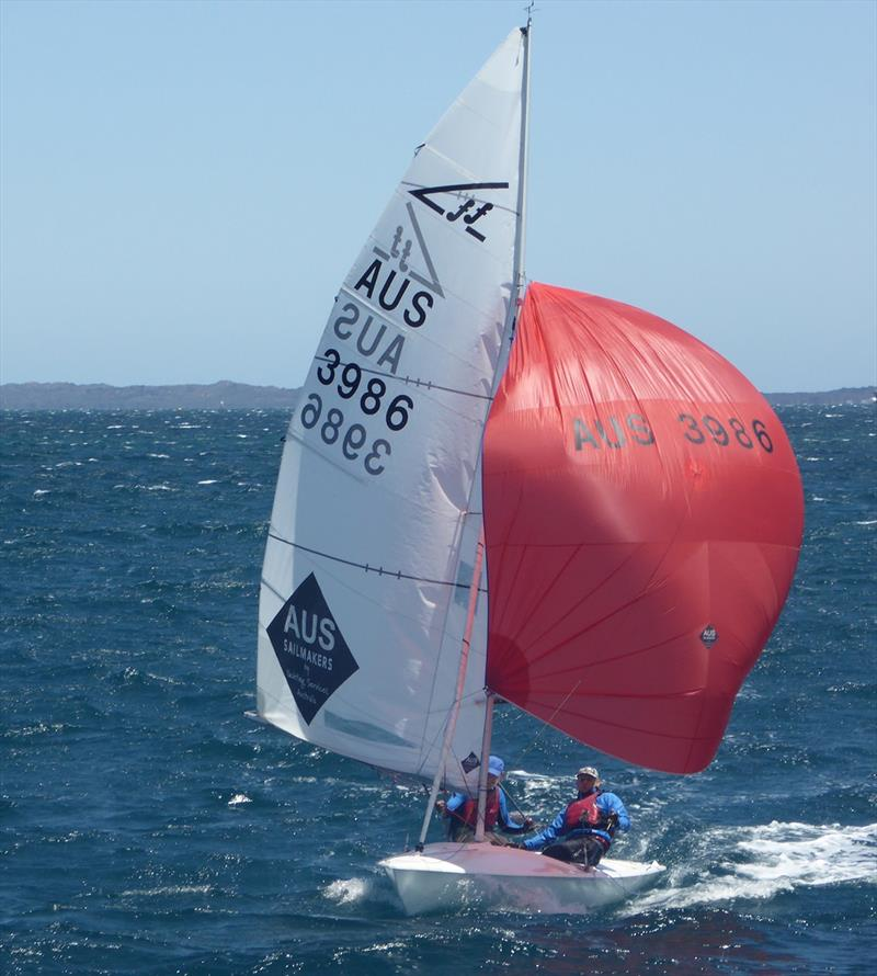 Nick Jerwood and Brad Sheridan - 2020 Tally Hobbs Memorial Regatta - photo © Jonny Fullerton
