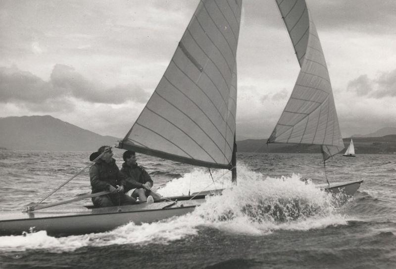 Titania - Uffa Fox won the 1950 Nationals in this boat photo copyright Ian G Gilchrist taken at  and featuring the Flying Fifteen class