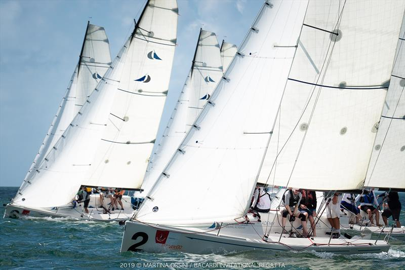 2019 Bacardi Cup Invitational Regatta photo copyright Martina Orsini taken at Coral Reef Yacht Club and featuring the Flying Tiger class