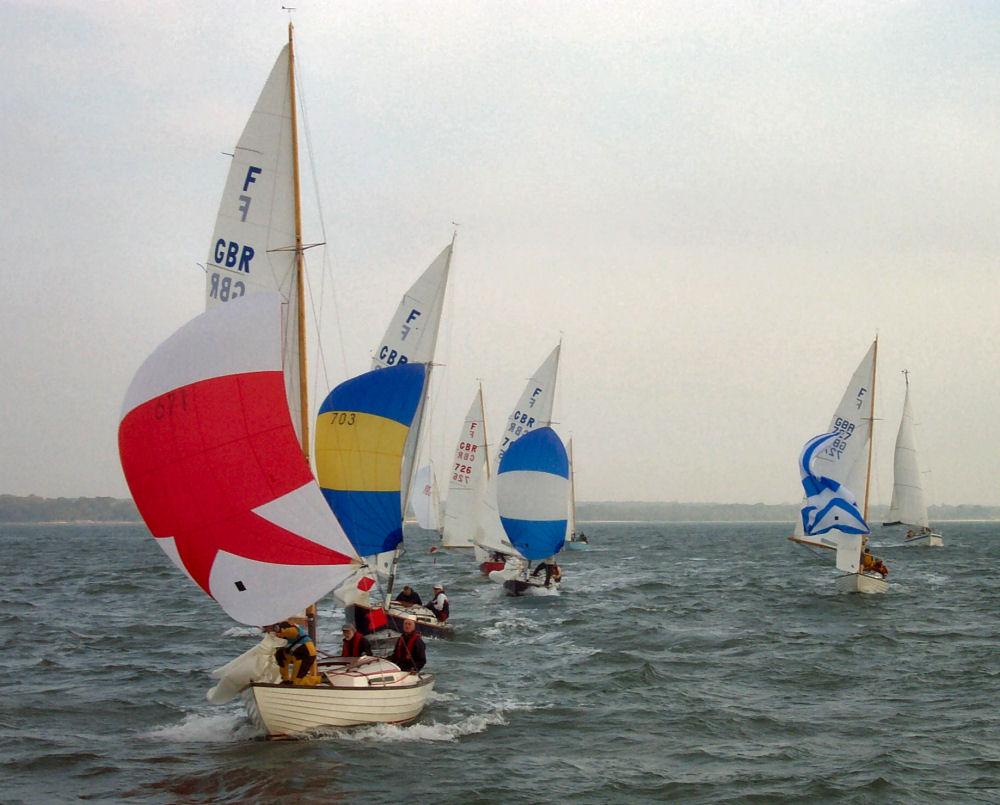 Lymington Town Sailing Club Solent Circuit Series Race 2