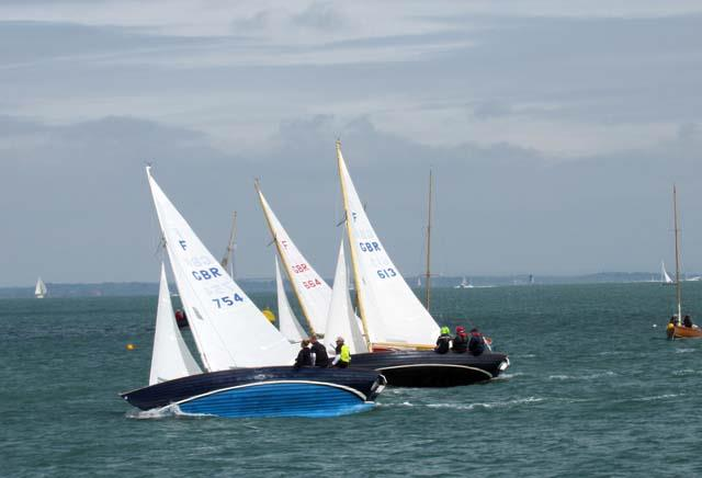 Taittinger Royal Solent Yacht Club Regatta 2017 photo copyright RSYC taken at Royal Solent Yacht Club and featuring the Folkboat class