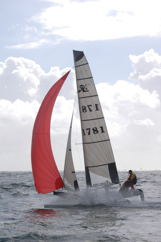 This June two Dorset based sailors Luke Yeates and Mark Angell will attempt a circumnavigation of mainland Britain on their 18ft Hobie Tiger catamaran photo copyright Britcat Challenge taken at  and featuring the Formula 18 class