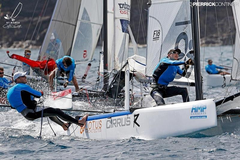 Emmanuel Boulogne and this son Jean - Saint-Barh Cata-Cup - photo © Pierrick Contin / www.pierrickcontin.fr