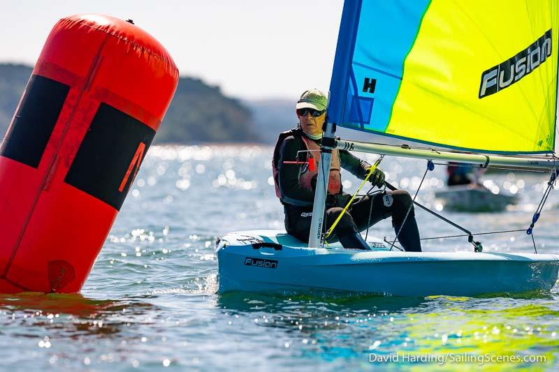 Bournemouth Digital Poole Week 2019 day 6 photo copyright David Harding / www.sailingscenes.com taken at Parkstone Yacht Club and featuring the Fusion class