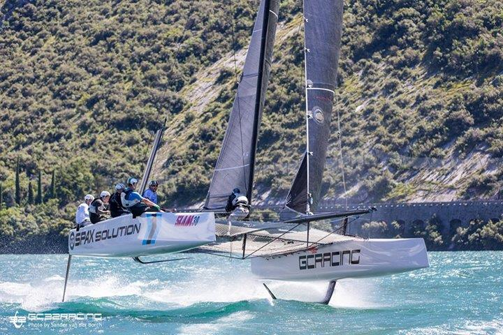 GC32 racing during The Foiling Week (TFW)  - photo © Sander van der Borch