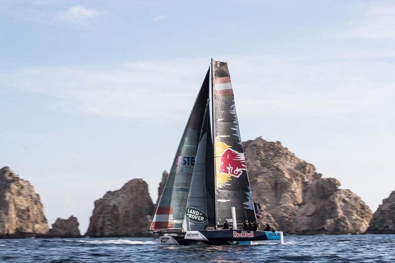 2017 Extreme Sailing Series™ - Red Bull Sailing Team finished the Act in fourth position on the event and Series leaderboard. photo copyright Lloyd Images taken at  and featuring the GC32 class