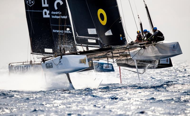 Fourth event of the GC32 Racing Tour, run by Marina Villasimius. - photo © Tomás Moya / Sailing Energy / GC32 Racing Tour