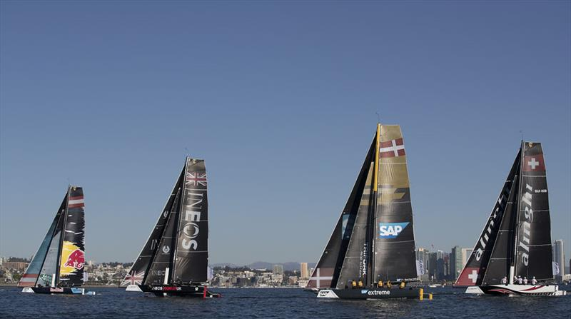 Extreme Sailing Series™ San Diego 2018 - Day two - Fleet - photo © Lloyd Images