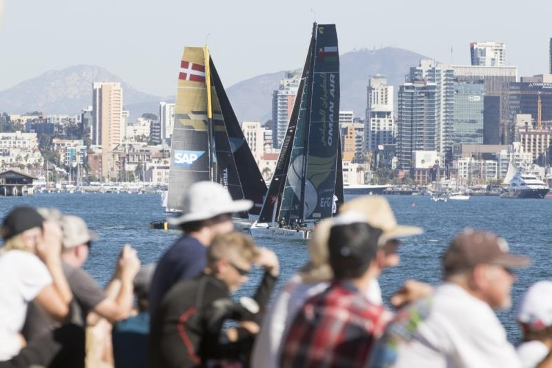 The Extreme Sailing Series 2018. Act 6. San Diego - photo © Lloyd Images