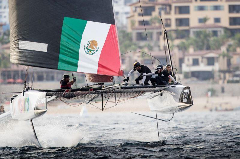 Extreme Sailing Series Act 8, Los Cabos 2017 - Day 3 - photo © Lloyd Images