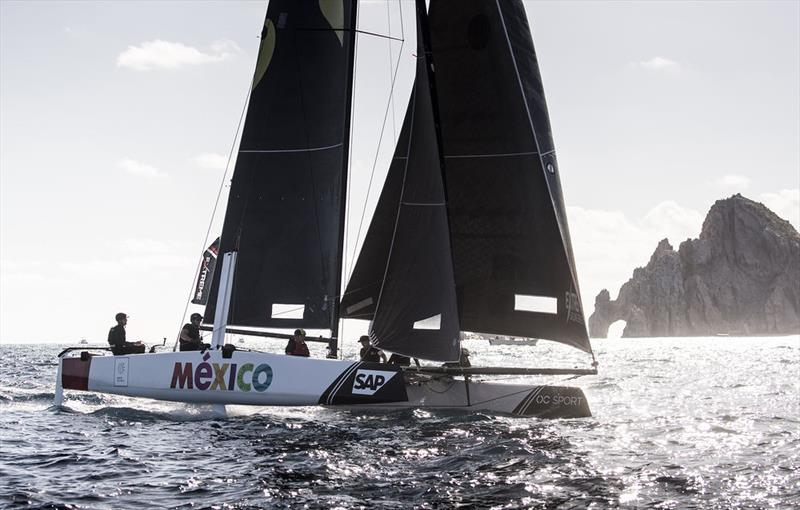 2018 Extreme Sailing Series™ Los Cabos -Day one - Team Mexico - photo © Lloyd Images