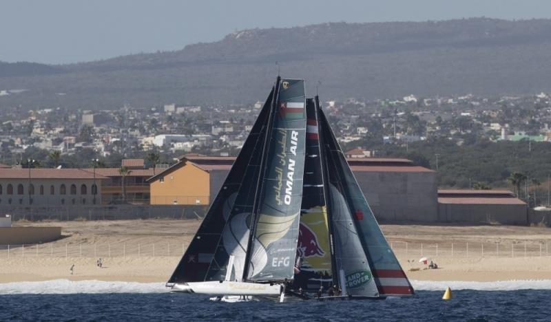 2018 Extreme Sailing Series Los Cabos, Act 7 photo copyright Lloyd Images taken at  and featuring the GC32 class