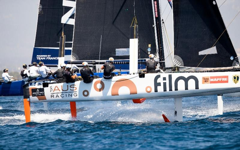 GC32 International Class Association President Simon Delzoppo's .film Racing.  photo copyright Sailing Energy / GC32 Racing Tour taken at  and featuring the GC32 class